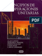 Principios de Operaciones Unitarias [Foust, Wenzel, Clump, Maus, Andersen]