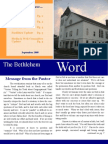 The Bethlehem Word - September