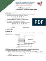 Examens Microprocesseur Microcontrolleur PDF Compress