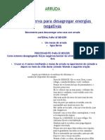 (2) ARRUDA-desagregadora de energias negativas