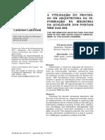 2007 - ALVARENGA, IZO JÚNIOR, SOUZA - A utilização do processo de arquitetura da informação na melhoria da qualidade dos portais web das