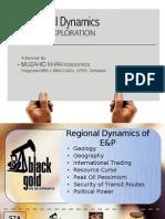 Regional Dynamics of Oil Exploration
