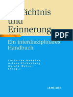 2010_Book_GedächtnisUndErinnerung