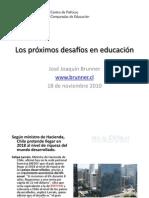 Desafios en Educacion JJBrunner_18112010