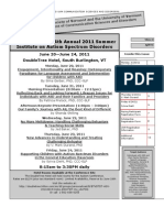 Autism Summer Institute - CMSI 295 SB1 - Course Syllabus or Other Course-Related Document