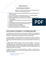 TP El Informacionalismo  (5° año secundaria)