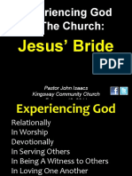 02-13-2011 Experiencing God in the Church-The Bride of Christ