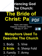 02-27-2011 Experiencing God in the Church-The Bride of Christ-Part 2