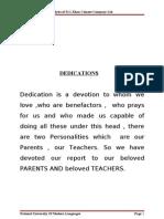 Financial Management Report DG.khan Cement Final