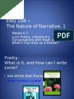 Lyric Poetry Slides