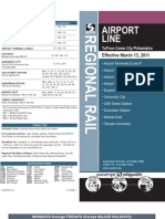 SEPTA - Airport line Schedule