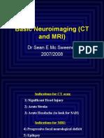 Basic Neuroimaging (CT and MRI)