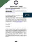 COMUNICADOS DEL 001 AL 041 DEL 2011