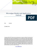 CBDMT Micro Algae Market and Application Outlook Report FV 19042011 - Table of Content