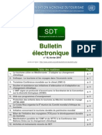 Bulletin electronique OMT
