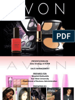Presentation on AVons (By Kam$)