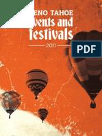 Reno Tahoe USA Special Events Brochure 2011