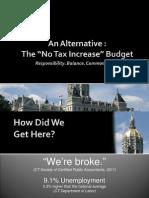 GOP 2011 Alternative Republican Budget (FINAL)