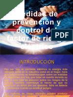 Medidas de prevención y control del factor de riesgo eléctrico
