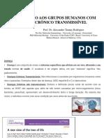 MATERIAL DE ESTUDO 1 -  ATENCAOO AOS GRUPOS HUMANOS COM AGRAVO CRONICOS TRANSMISSÍVEIS (1)