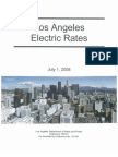Los Angeles Electric Rates