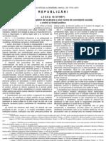 Legea 61 din 1991 Republicata in 2011