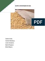 Transporte e armazenagem da soja