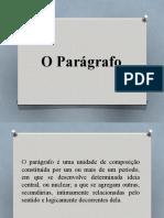 Paragrafo Padrao e Topico Frasal