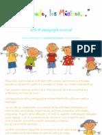 arte y pedagogía A MENUDO, LOS MÚSICOS