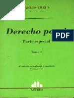 Creus Carlos - Derecho Penal - Parte Especial - Tomo I