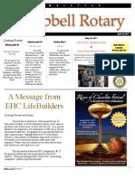Rotary Newsletter Apr 19 2001