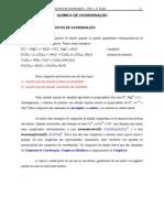 quimica de coordenacao - complexos
