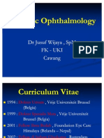 Pediatric Ophthalmology Dr.jusuf