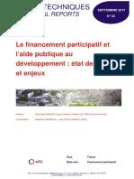33 - Le Financement Participatif Et l'Aide Publique Au Développement VF