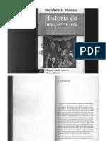Historia de Las Ciencias - 1. La Ciencia Antigua, La Ciencia en Oriente y en La Europa Medieval