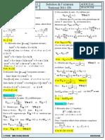 Examen National Maths Sciences Et Technologies 2011 Normale Corrige Copie