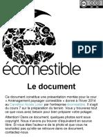 Écomestible.com Aménagement Paysager Comestible Cours 06 Le Potager 1.0
