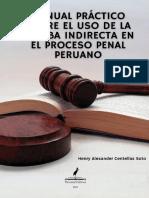 Manual práctico sobre el uso de la prueba indirecta en el proceso penal peruano