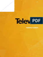 202111 Televes Tarifa Noviembre 2021 España