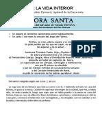 De La Vida Interior (II). San Pedro Julián Eymard
