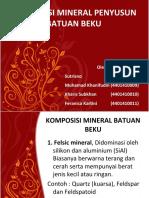 Mineral Penyusun Batuan Beku