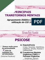 tema 08 Principais Transtornos Mentais - visão geral