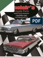 Sinclair's Impala Parts Catalog 2012