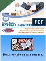 Rotinas Admninistrativas - Aula 5