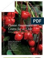 Plantas Amenazadas del centro-sur de Chile