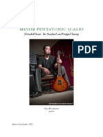 Minor Pentatonic Scales - Extended Forms