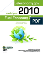 DOE Fuel Econ Doc - each vehicle