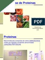 Análise de Proteínas aula diurno