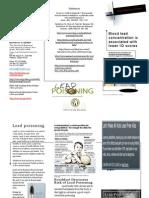 Nrs 434-B -lead poisening brochure