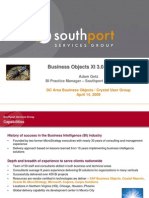 Business Objects XI 3.0 Essentials